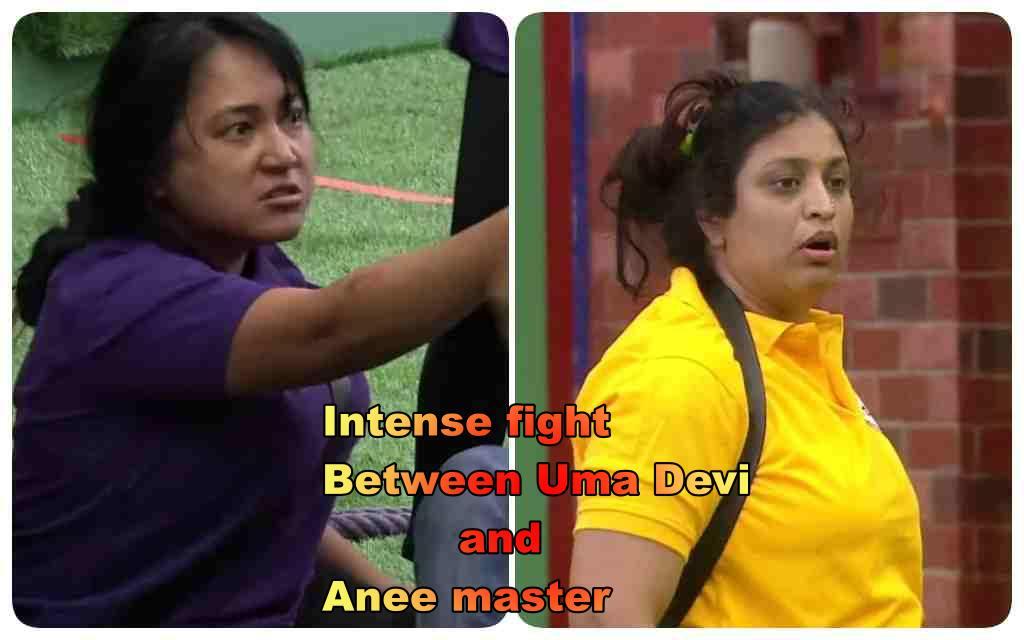 Bigg Boss 5 Telugu-Day 10 Intense fight Between Uma Devi and Anee Master
