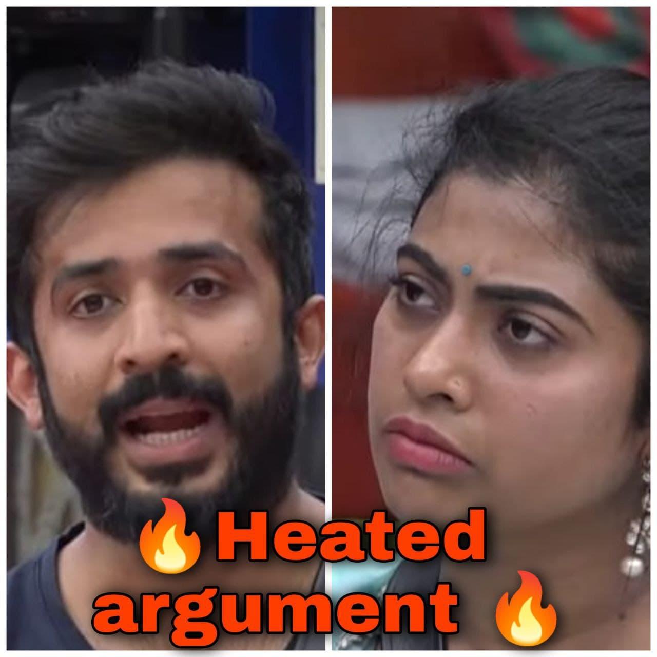 Anchor Ravi and RJ Kajal Heated arguement in Bigg Boss 5 telugu house